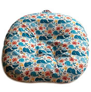 d2be9ab1cb7b Amazon.com  Removable Slipcover for Newborn Lounger. 100% Soft Cotton. Made  in USA (No. 8)  Baby