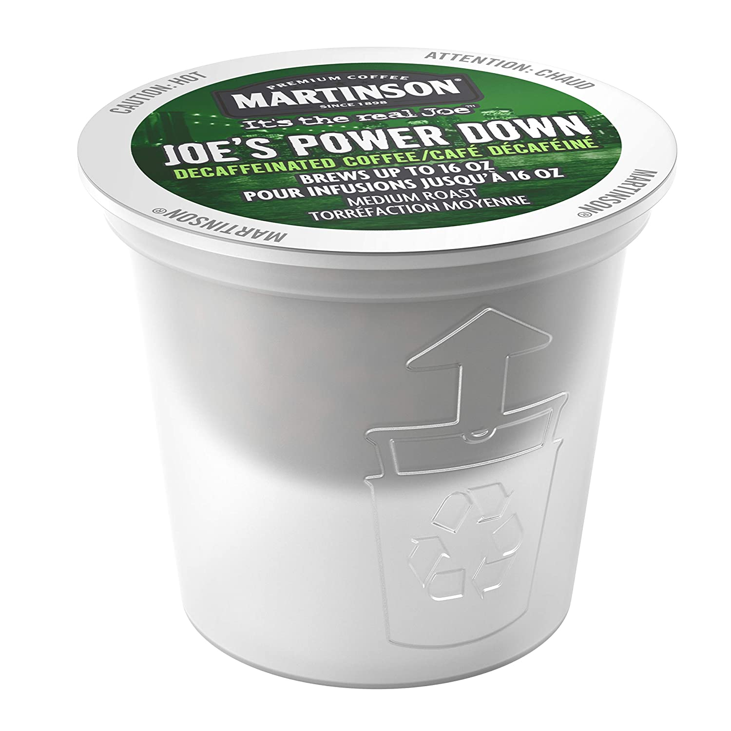 Martinson Decaf, Power Down, 24 Count