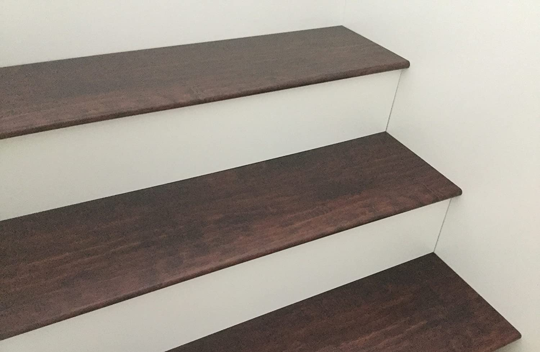 Laminate Flooring Stair Tread System 6 Kits Per Box Merbau Com