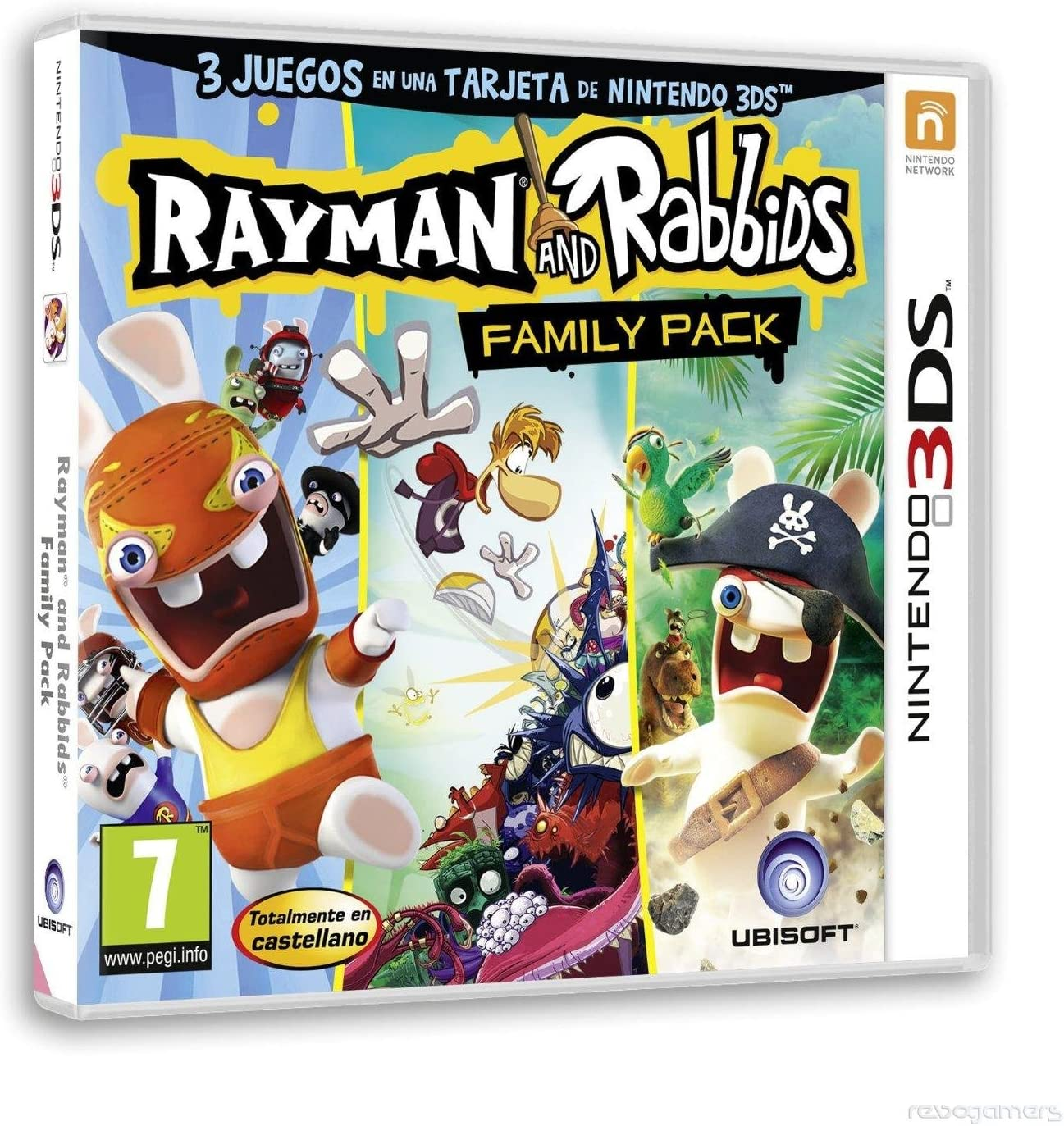 Rayman & Rabbids: Family Pack: Amazon.es: Videojuegos