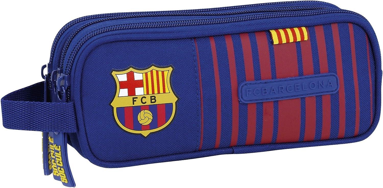 Safta Estuche F.C. Barcelona 17/18 Oficial Triple cremallera 210x70x85mm: Amazon.es: Juguetes y juegos