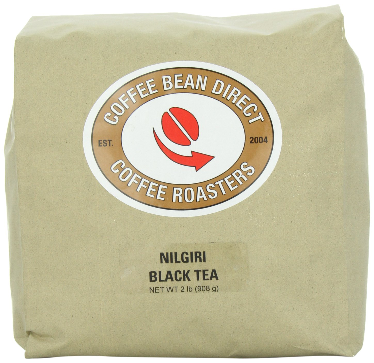 Coffee Bean Direct Nilgiri Loose Leaf Tea, 2 Pound Bag by Coffee Bean Direct