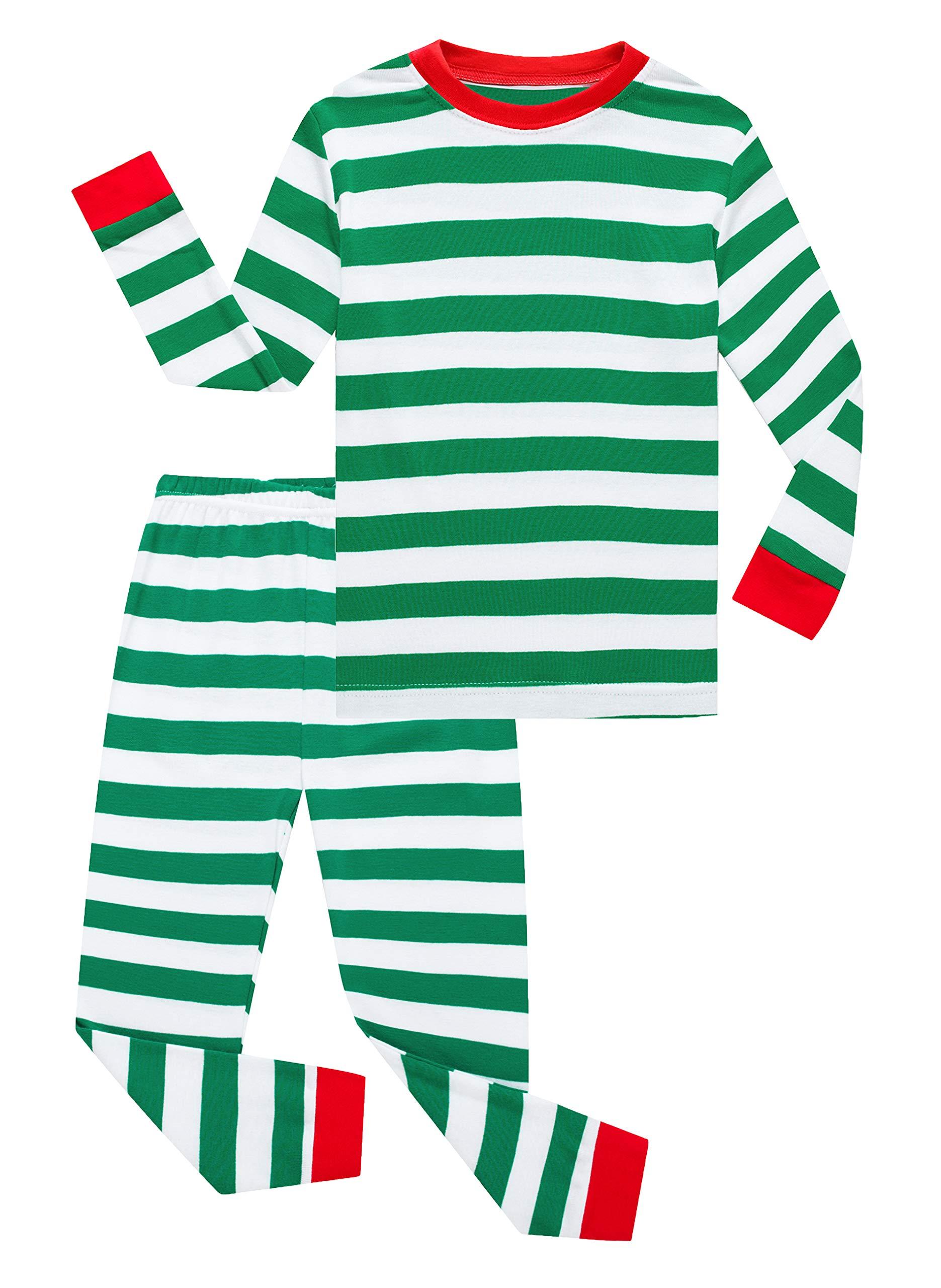 Family Feeling Little Girls Boys Christmas Pajamas