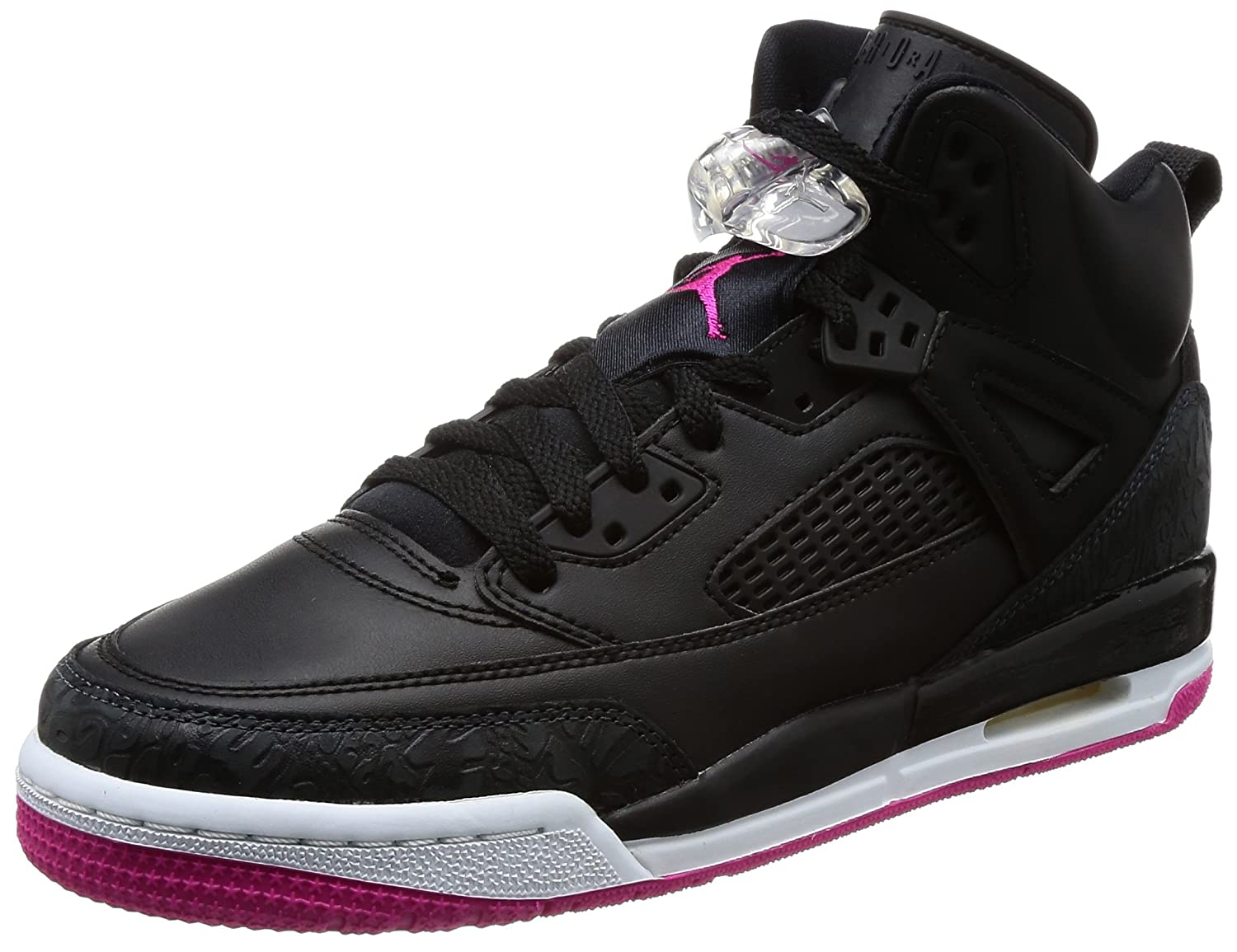 535712-029 GRADE SCHOOL SPIZIKE GG JORDAN BLACK DEADLY PINK ANTHRACITE