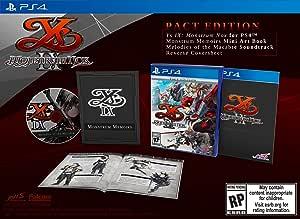 Ys Ix Monstrom Nox Pact Edition - Ps4