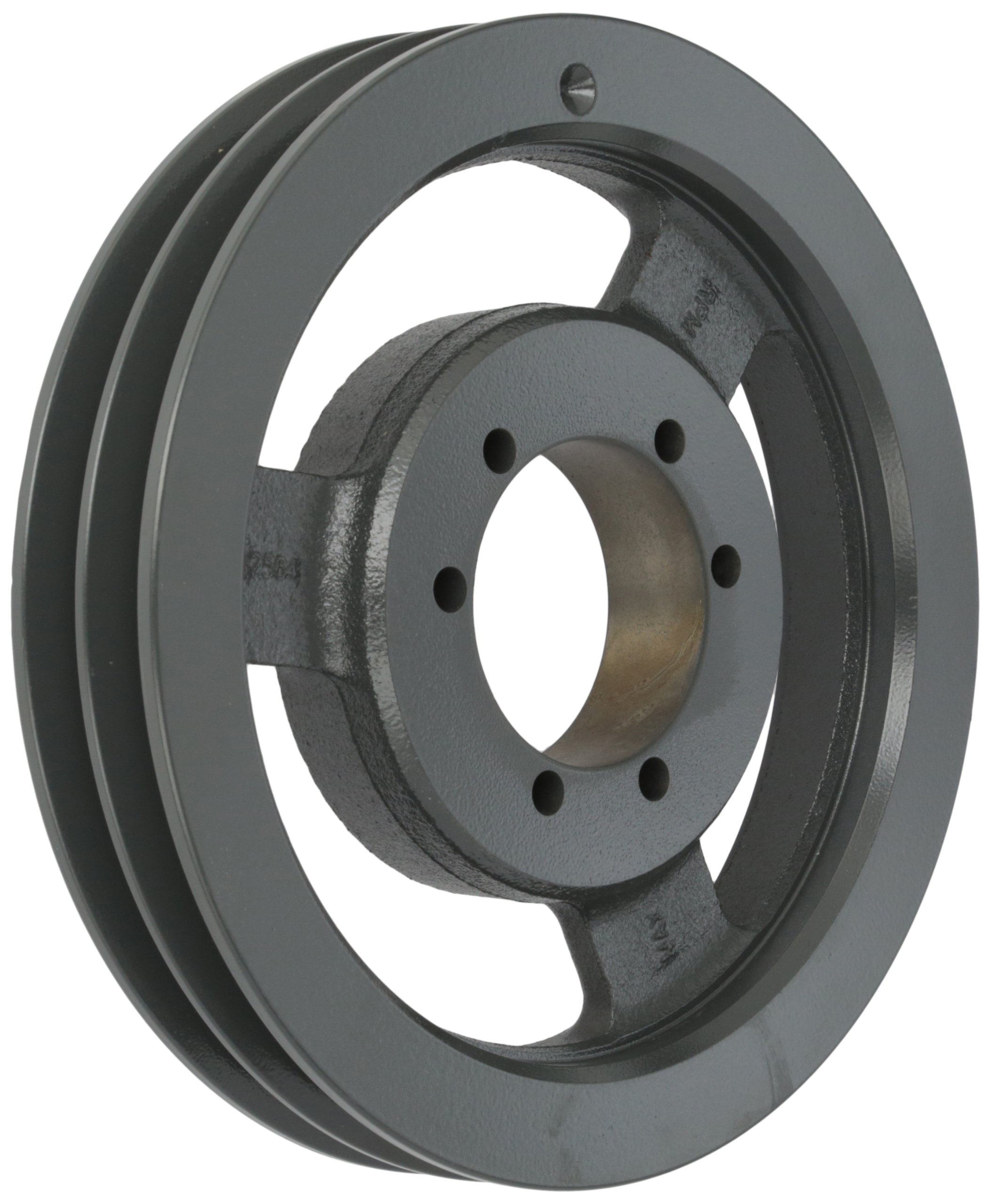 Browning 2B94SK Q-D Sheave, Cast Iron, 2 Groove, A or B Belt, Uses SK Bushing