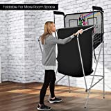 Giantex Foldable Basketball Arcade Game, 8 Game