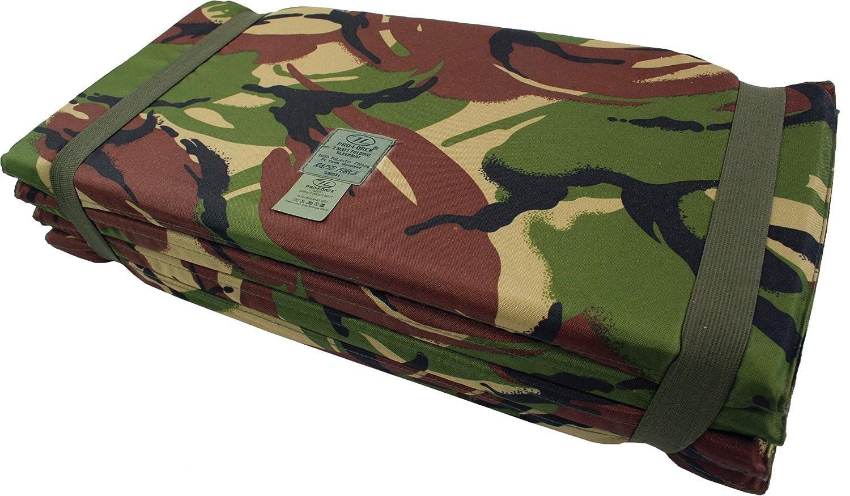 Highlander Z Army Sleeping Mat Folding Fold Up Camping Mattress Foam DPM Camo Zip Zap Zooom