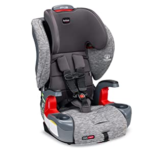Britax Grow with You ClickTight Harness-2-Booster Car Seat - 2 Layer Impact Protection - 25 to 120 Pounds, Asher [Newer Version of Frontier]