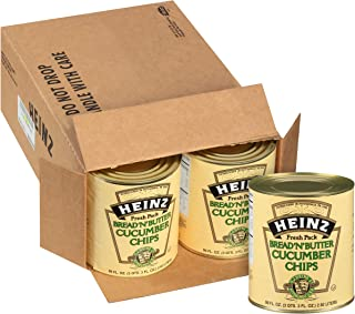 product image for Heinz Bread 'N Butter Cucumber Chips #10 Can (99 fl oz Cans, Pack of 6)