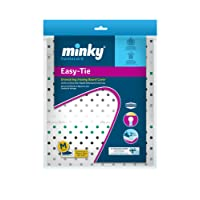 Minky Easy-tie Drawstring Ironing Board cover - 110 x 35 cm