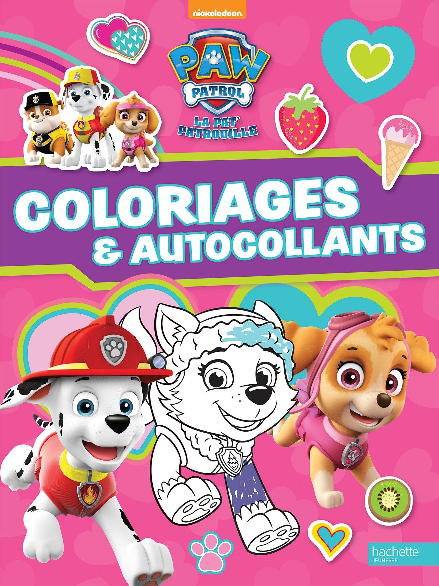Paw Patrol La Pat Patrouille Coloriages Et Autocollants Special