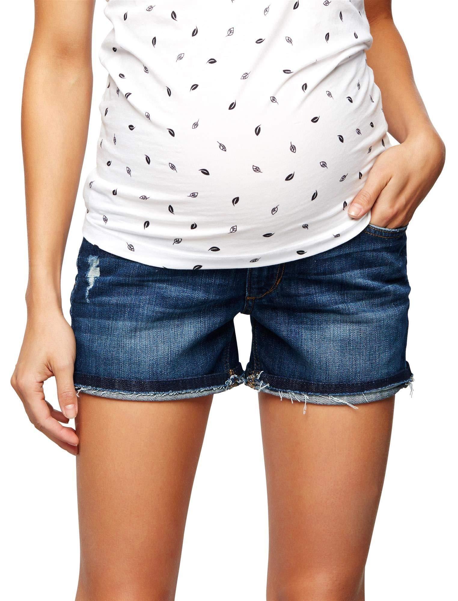 Joe's Jeans Secret Fit Belly Markie Maternity Shorts