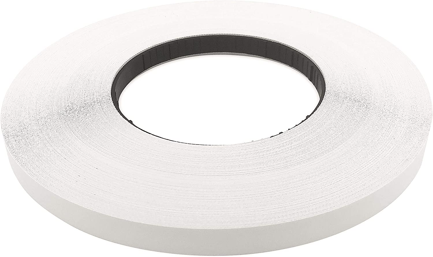"Edge Supply White Melamine 7/8"" X 250' Roll Preglued, White Edge Banding, Flexible White Tape, Easy Application Iron On with Hot Melt Adhesive. Smooth Finish White Melamine Edging. Made in USA."