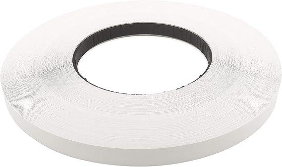 """On Banding Flexible Tape Edge Supply White Melamine 7//8/"""" X 250/' Roll Preglued"""