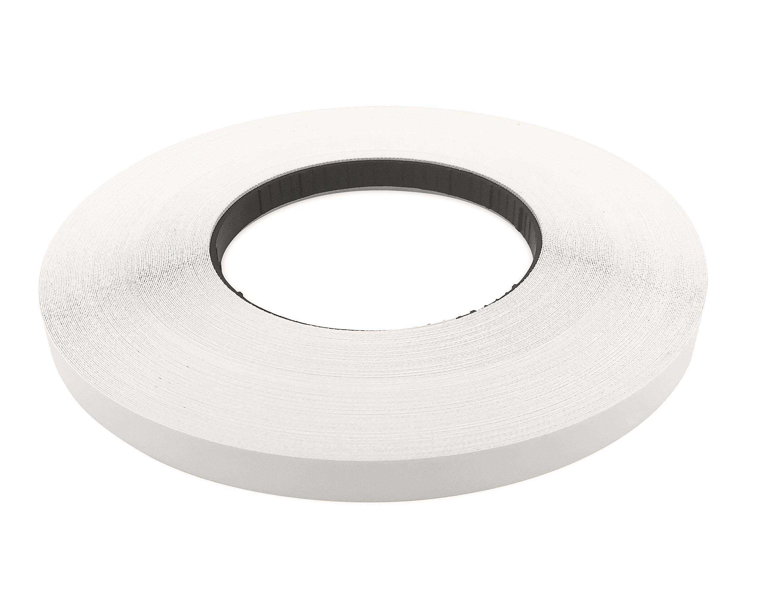 White Melamine 13/16'' X 250' Roll Preglued, White Edge Banding, Flexible White Tape, Easy Application Iron On with Hot Melt Adhesive. Smooth Finish White Melamine Edging. Made in USA. by Edge Supply