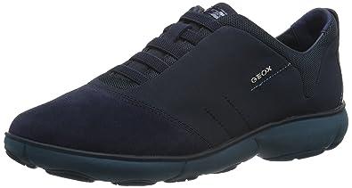 Geox Damen D Nebula C Sneaker, Blau (Navy), 35 EU