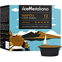 Lavazza A Modo Mio 100 compatible Capsule - Il Caffè Italiano - Blend Napoli Intensity 12