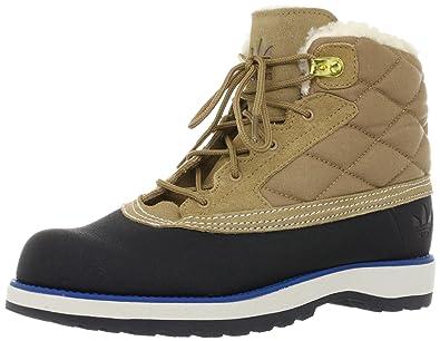 adidas Originals Adi Navvy Quilt G60557 Boots Brown Size: 10
