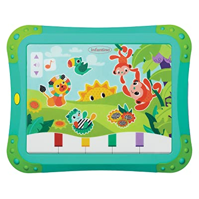 Infantino Topsy Turvy Lights and Sounds Musical Touch Pad : Baby