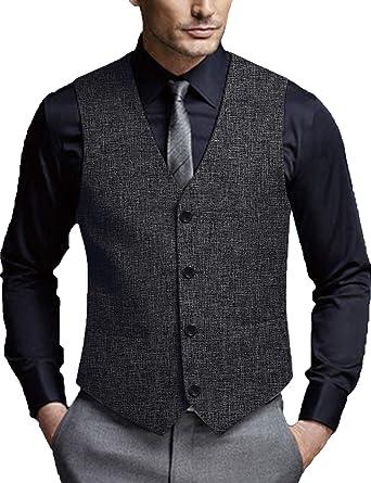 COOFANDY Men's Casual Business Vests