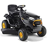 McCulloch M145-97T 500 cc Petrol Ride on Tractor with Side Ejection-Black