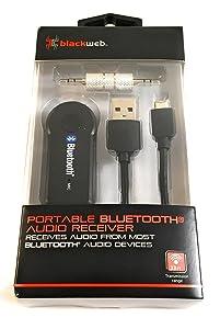 Blackweb Portable Bluetooth Audio Receiver