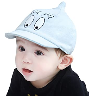 f099eda02b7 Image Unavailable. Image not available for. Color  GZMM Infant Toddler Baby  Baseball Cap Unisex Soft Brim Sun Hat ...
