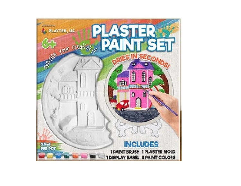 Playtek Plaster Art Kits Crafts