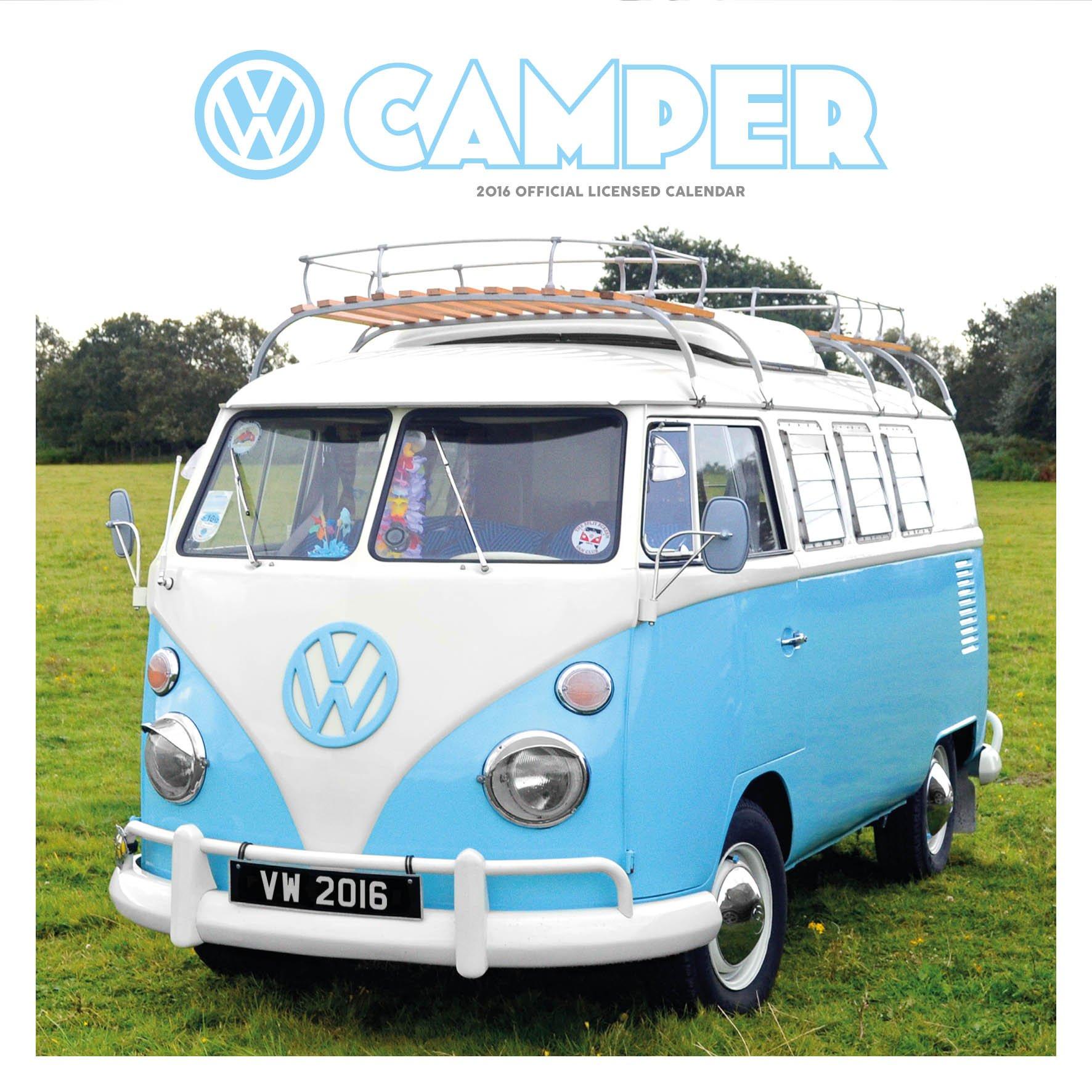 Official VW Camper Vans 2016 Square Wall Calendar Amazoncouk Danilo 9781780548784 Books
