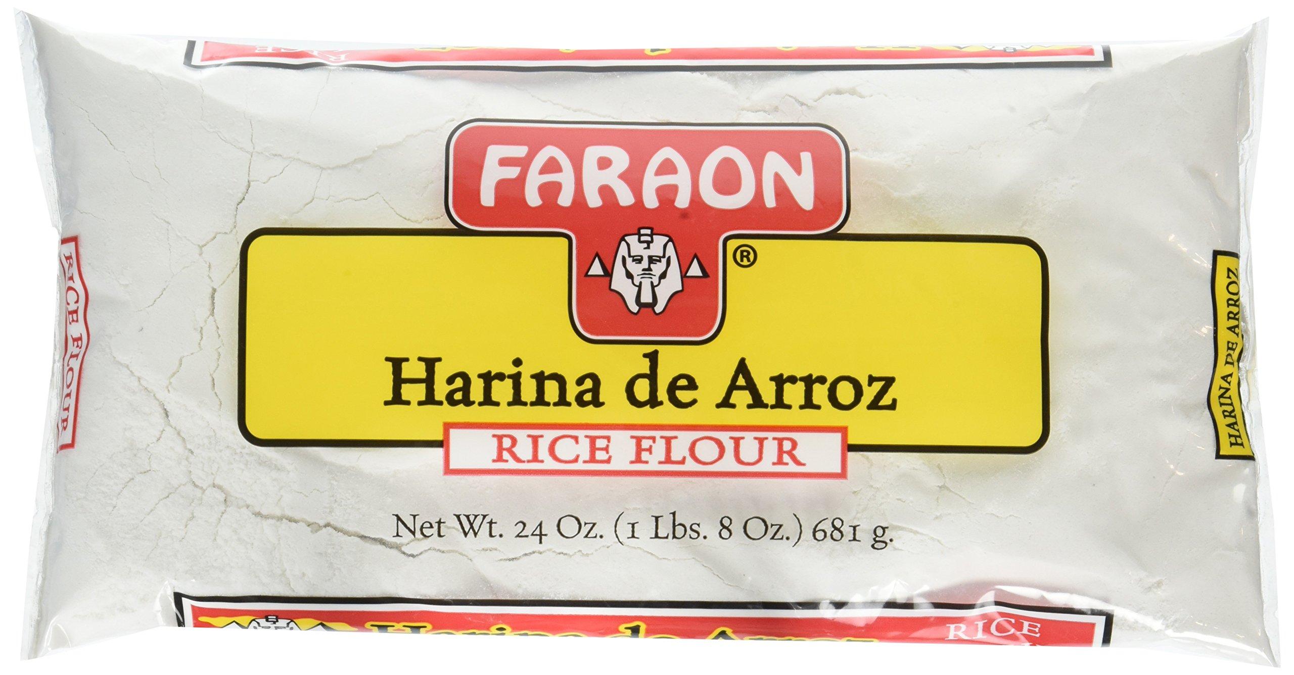 FARAON Rice Flour, 24 Ounce (Pack of 12)