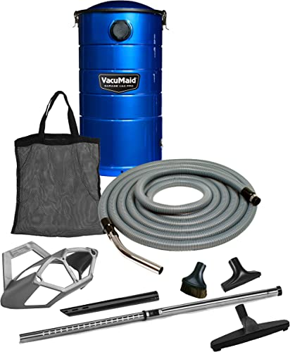 VacuMaid GV50BPRO Professional Wall Mounted Garage and Car Vacuum