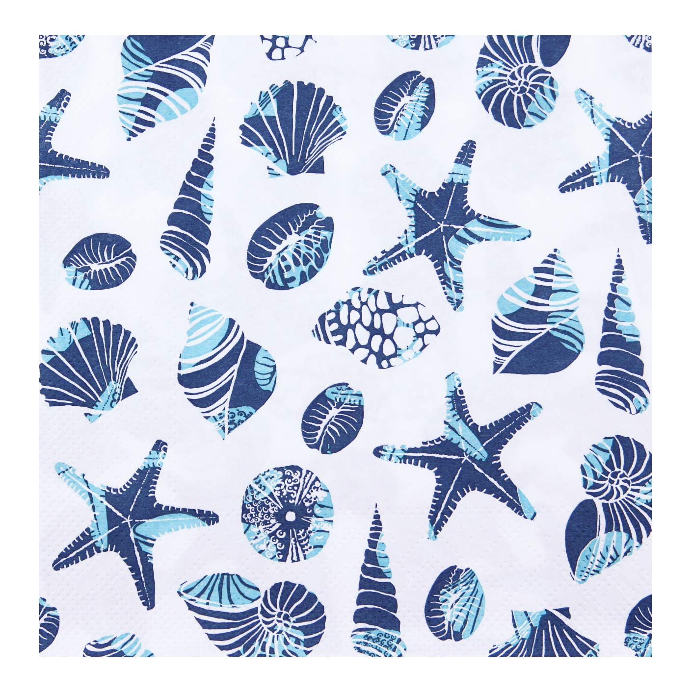 Tovaglioli di Carta Maritim Colore: Bianco//Blu 33 x 33 cm 3 Strati finemark