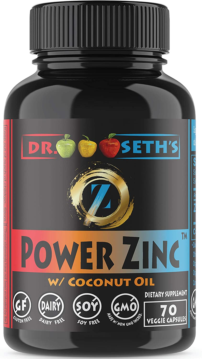 Zinc Supplement in Organic Sunflower Oil & Coconut Oil~ Zinc Picolinate Supplements Now Compare to: 50mg 100mg 25mg 10mg Code Capsules, Pure Liquid Chelated Gluconate Orotate Raw Vegan Vitamin 50 mg: Health & Personal Care