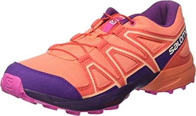 Salomon Speedcross J, Zapatillas de Trail Running Unisex Niños, Naranja (Living Coral/Acai/Rose Violet), 36 EU: Amazon.es: Zapatos y complementos