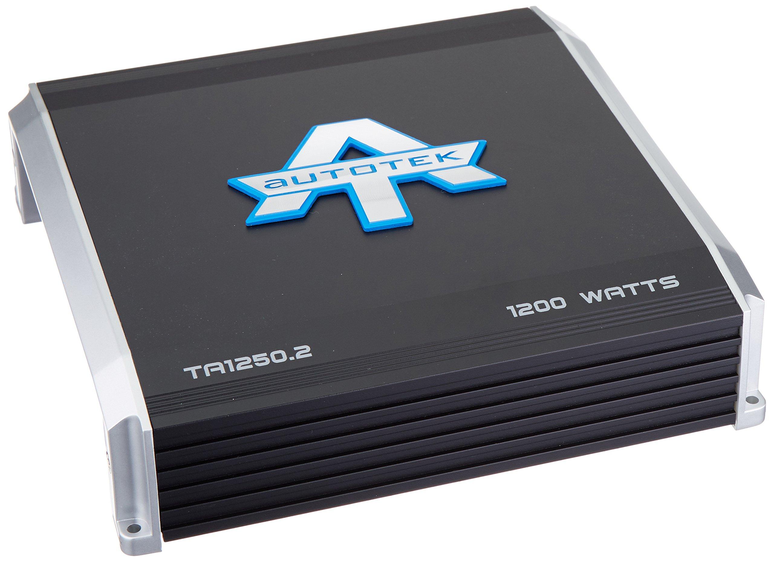 AutoTek 1250.2 Ta Series 2-Channel Class Ab Amp (1,200 W)