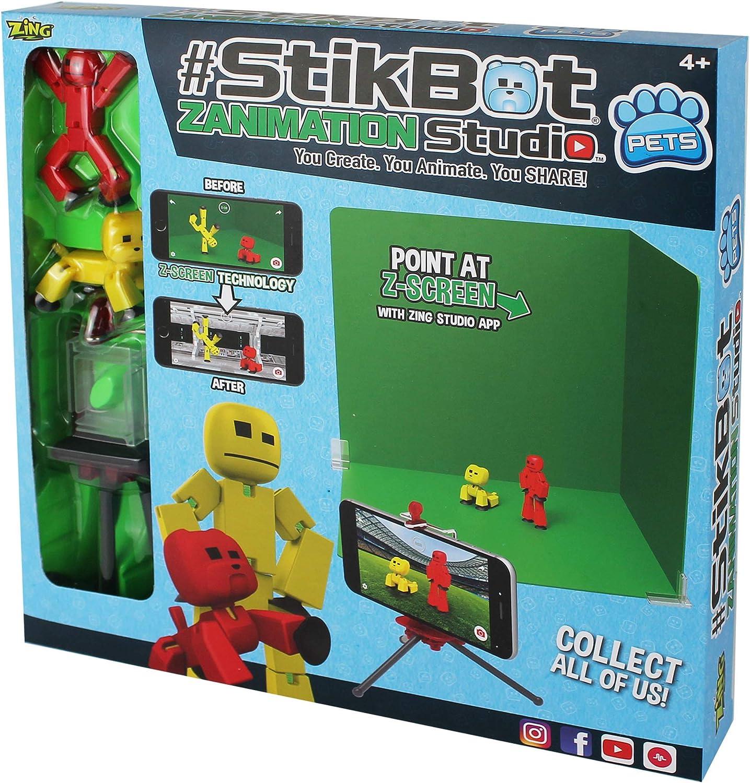 by Zing stikbot zanimation Studio: Amazon.es: Juguetes y juegos