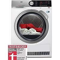 AEG T8DE86685 / Wärmepumpentrockner / AbsoluteCare - Wolle-Seide-Outdoor trocknen / 8,0 kg / Energiesparend / Mengenautomatik / Knitterschutz / Kindersicherung / Schontrommel / Trommelbeleuchtung