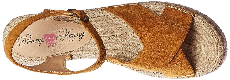 Penny Loves Kenny Women's Friend B(M) Platform Sandal B01N0QIA5F 11 B(M) Friend US|Tan feaf33