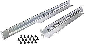 CyberPower 4POSTRAIL 4-Post Universal Rack Mount Rail Kit, Silver