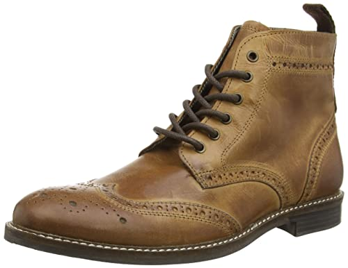 Zapatos marrones Red tape para hombre D7UCCFhaT