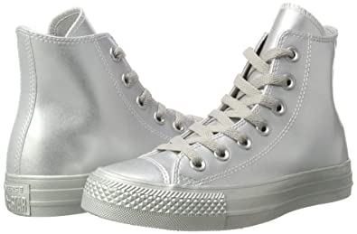 Converse Chuck Taylor All Star, Baskets Mixte Adulte, Argenté (Silver/Silver/Silver 040), 36 EU