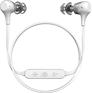Optoma NuForce BE2 Wireless Bluetooth Earphones with Patented SpinFit eartips, 10h Battery, Microphone,