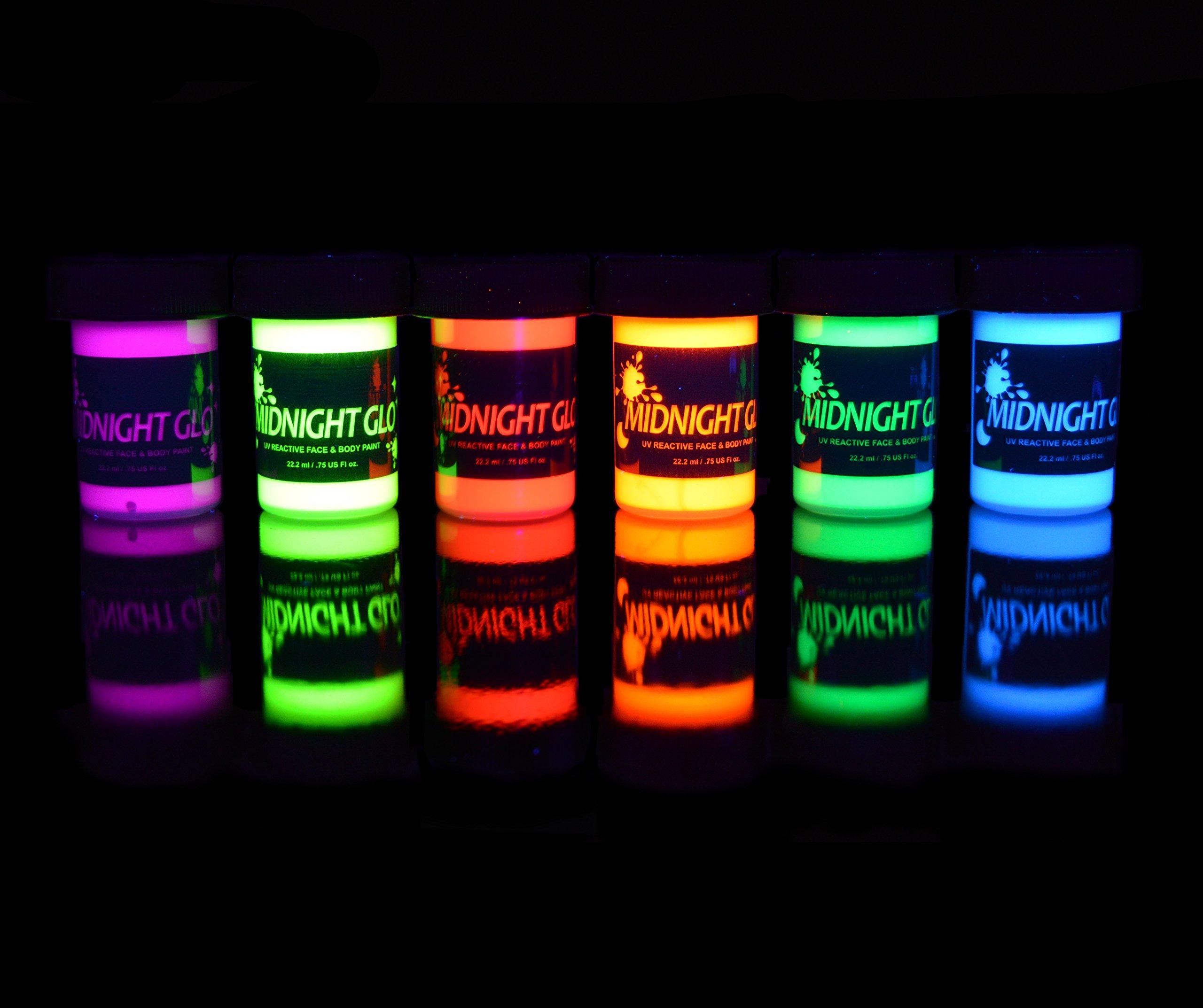 Amazon Com Hot Pink Neon Black Light Uv Lipstick Cream