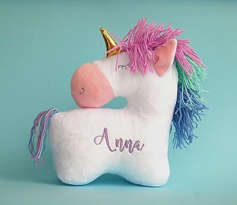 Personalized Stuffed Unicorn Baby Girl Gift Plush toy