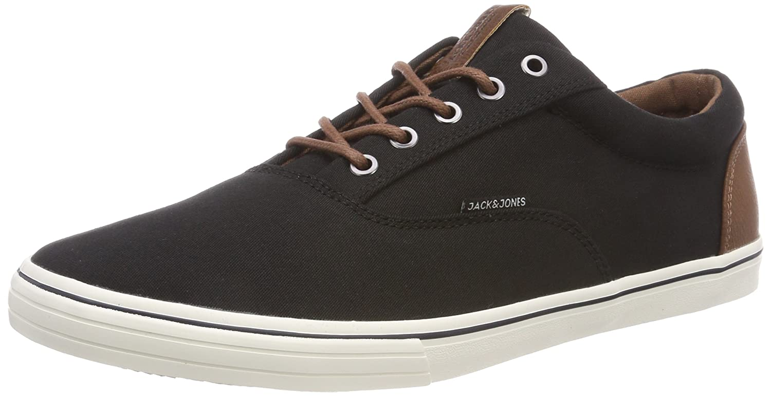 Jack & Jones Jfwvision Mixed SS Anthracite Noos, Zapatillas para Hombre