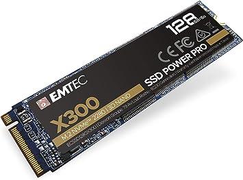 Emtec X300 M.2 - Disco duro SSD (128 GB, M.2 2280, NVMe PCIe Gen 3.0 x4): Amazon.es: Electrónica