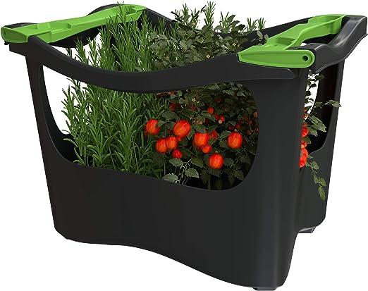 U-greeny Pflanzbox Macetero para balcón, jardín y terraza, Sistema ...