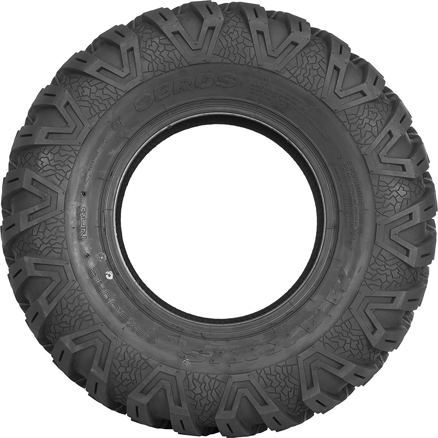 2 Tires 6 Ply Maxxis Ceros Front Tires 26x9R-14 TM00096100