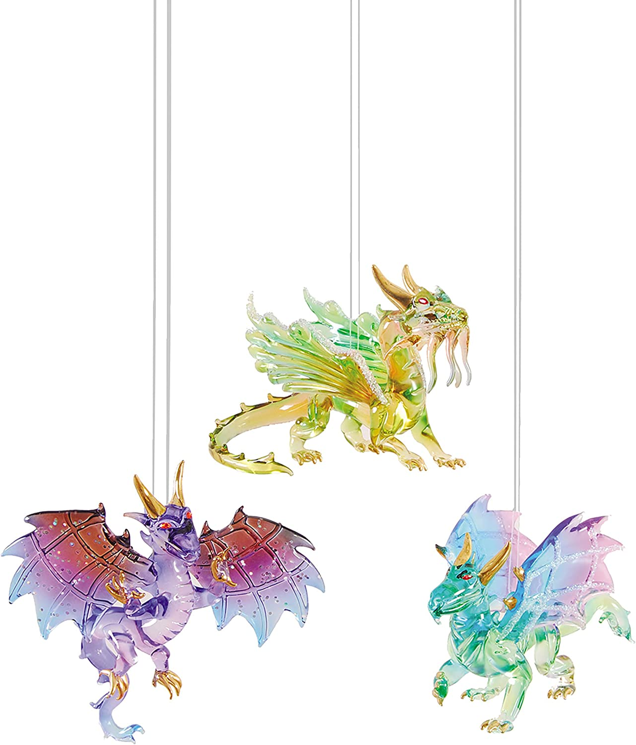 GALLERIE II Winged Dragon Christmas Xmas Ornament A/3 Multi